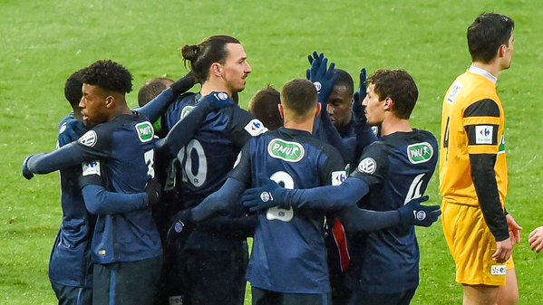 Video: Wasquehal vs PSG