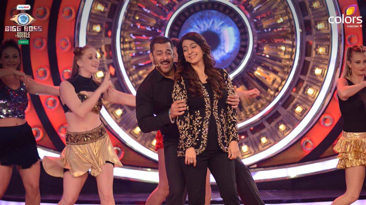 Bigg Boss 9, Episode 84: Juhi Chawla Calls Salman Khan Bhaijaan!