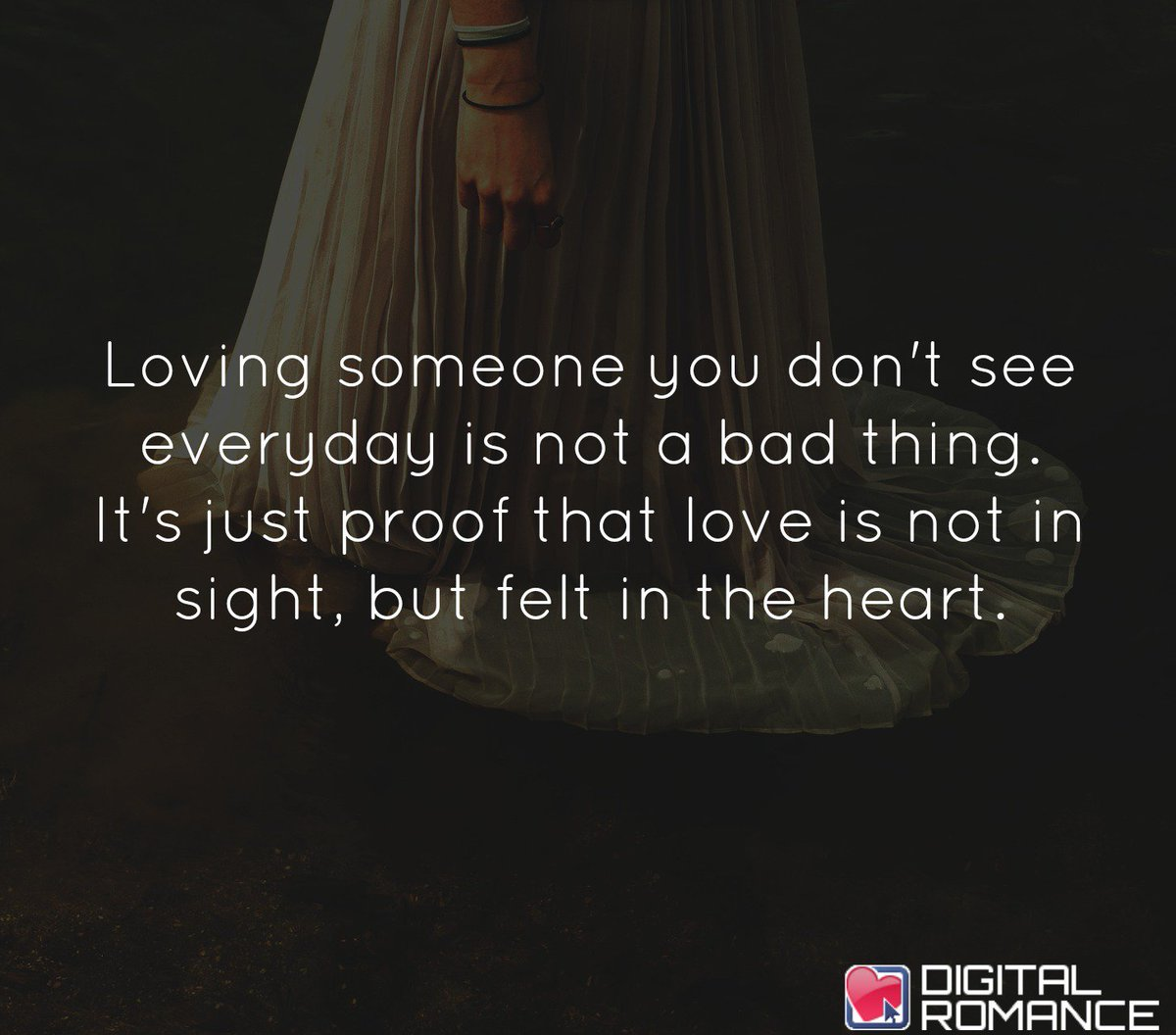 "Quotes About Loving Someone Digital Romance Inc On Twitter ""loving Someone You Don't See"