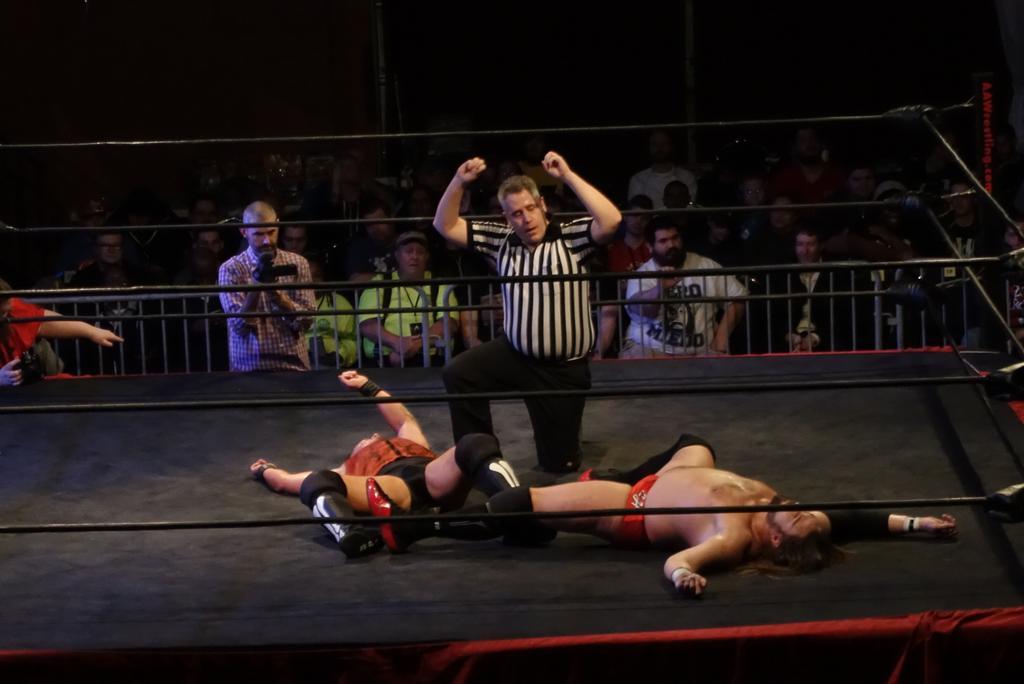 Resultados de AAW The Chaos Theory 2016 (15 de enero de 2016) - Eddie Kingston retuvo el título ante Trevor Lee 2