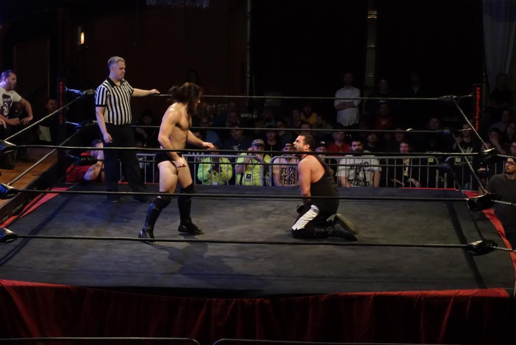 Resultados de AAW The Chaos Theory 2016 (15 de enero de 2016) - Eddie Kingston retuvo el título ante Trevor Lee 3