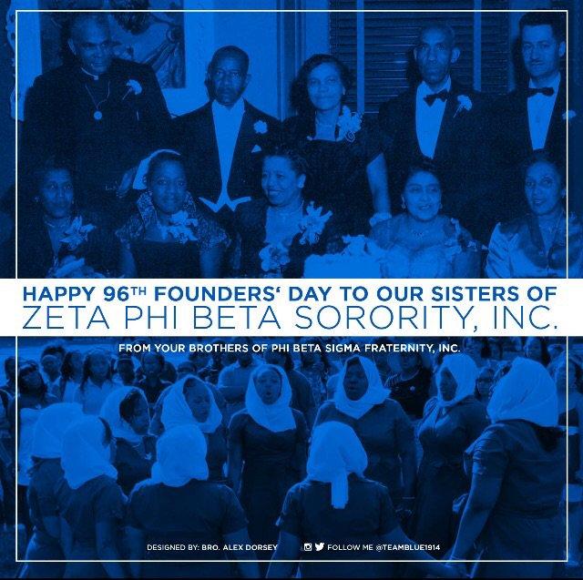 Happy Founders Day to my beautiful Sorors of Zeta Phi Beta Sorority, Inc! @syleecia @sylette @Syleena_Johnson https://t.co/LV1vV1JlbS