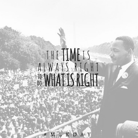 We honor Martin Luther King Jr. by striving today, and everyday, to do what is right. #MLKDAY https://t.co/EDiUOZowzt