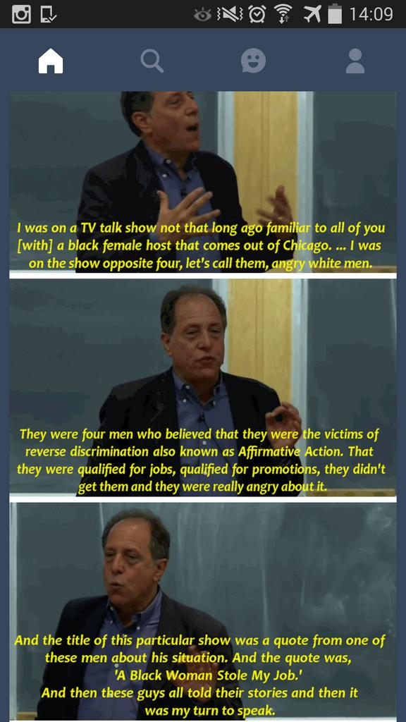 "For all the dudes who cried when BBC introduced its ""minimum 1 woman per panel show"" rule. Meet Dr. Michael Kimmel: https://t.co/do5MazSiNx"