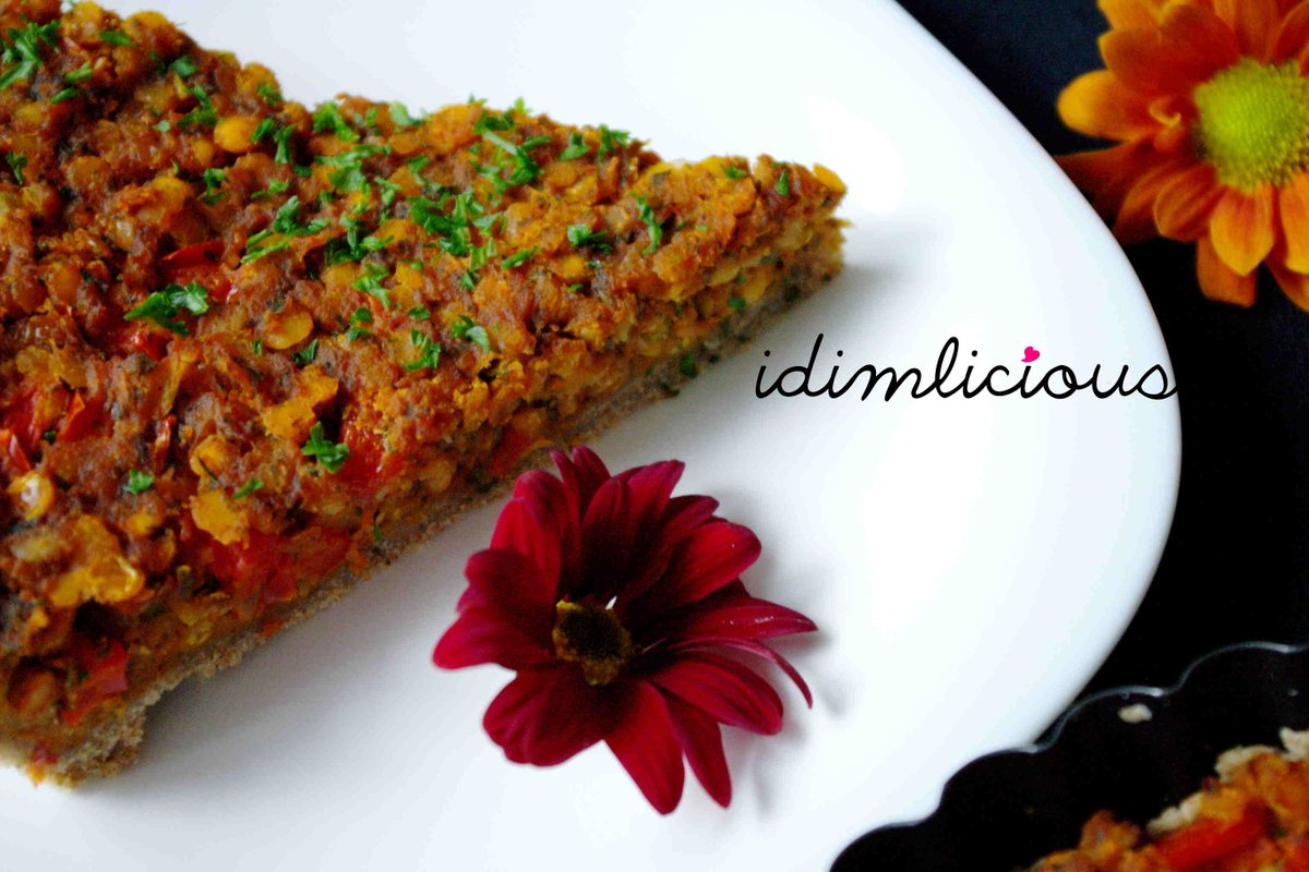 Cool Recipe For A Tasty Vegetarian Lentils Tarte Is Now On My Blog Kchen  Rezept Food With Kchen