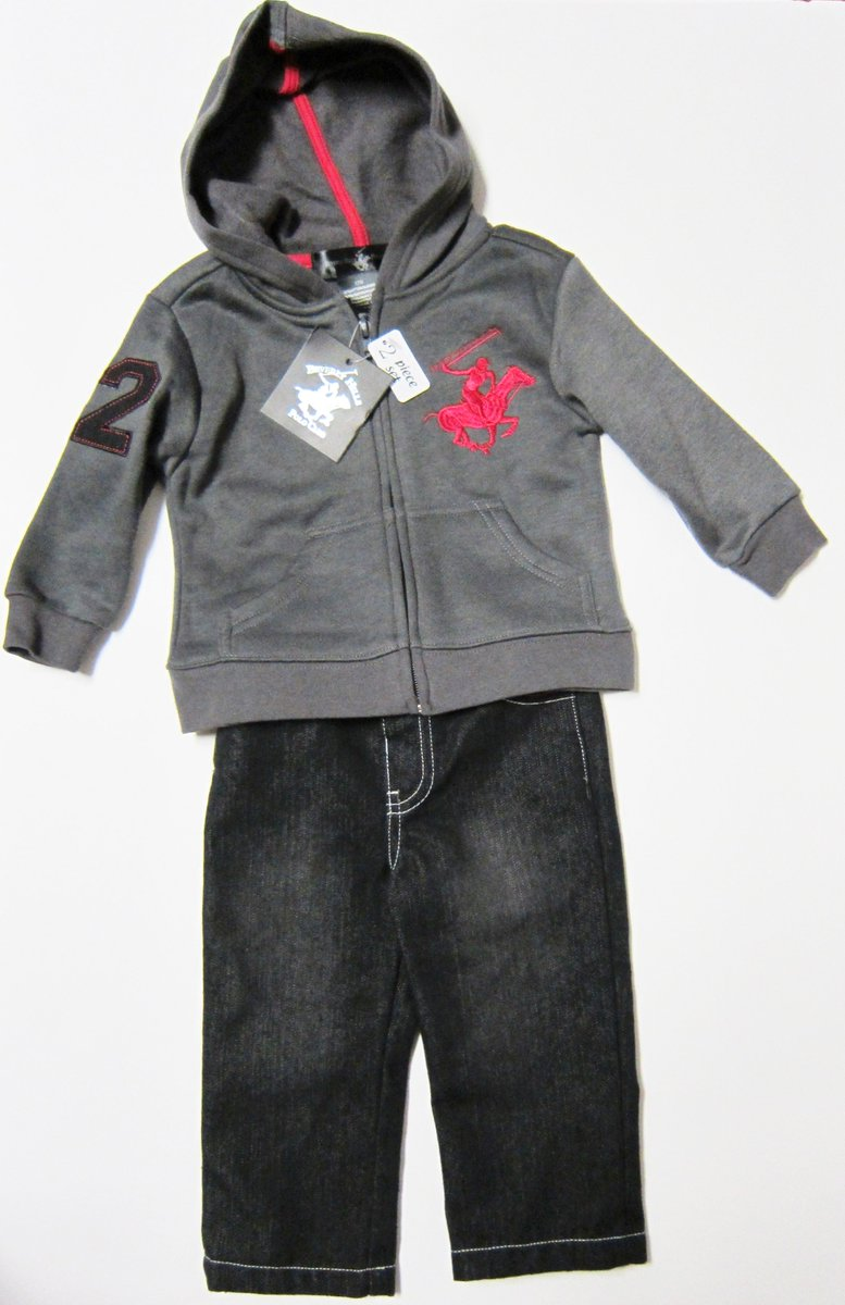 2T Toddler Beverly Hills Polo Club Gray Hoodie Jeans 2 Piece Set New https://t.co/CjoeHUg0Mr https://t.co/O0URPPSASv
