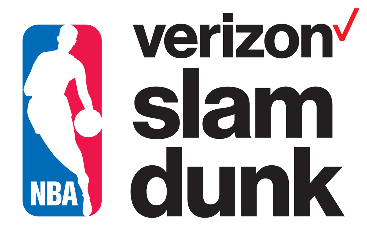 Logo Verizon Slam Dunk 2017