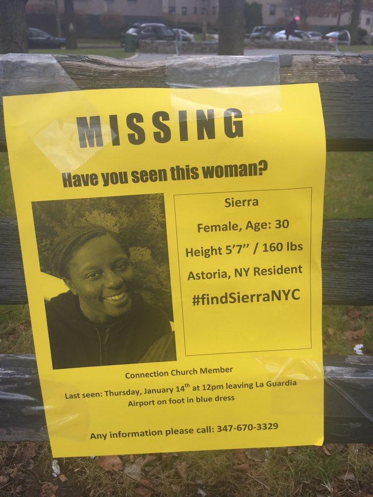 Sierra Shields, 30, Missing - Flight Attendant Last Seen Leaving La Guardia Airport - Queens, NY CY3XuCHWcAAZ19G