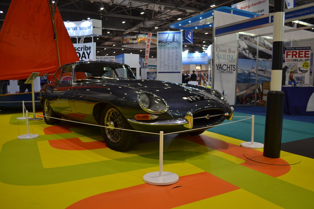 Rockstars Cars On Twitter The E Type Is At The London Boat Show - Car show display stand for sale