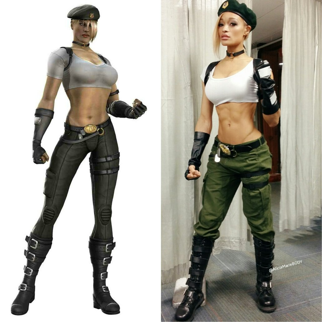 My Sonya Blade came to life today (finally lol) at @MagicCityCon ❤