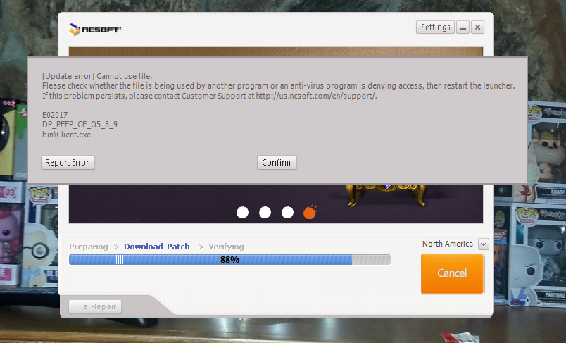 Cant Find Blade And Soul Launcher