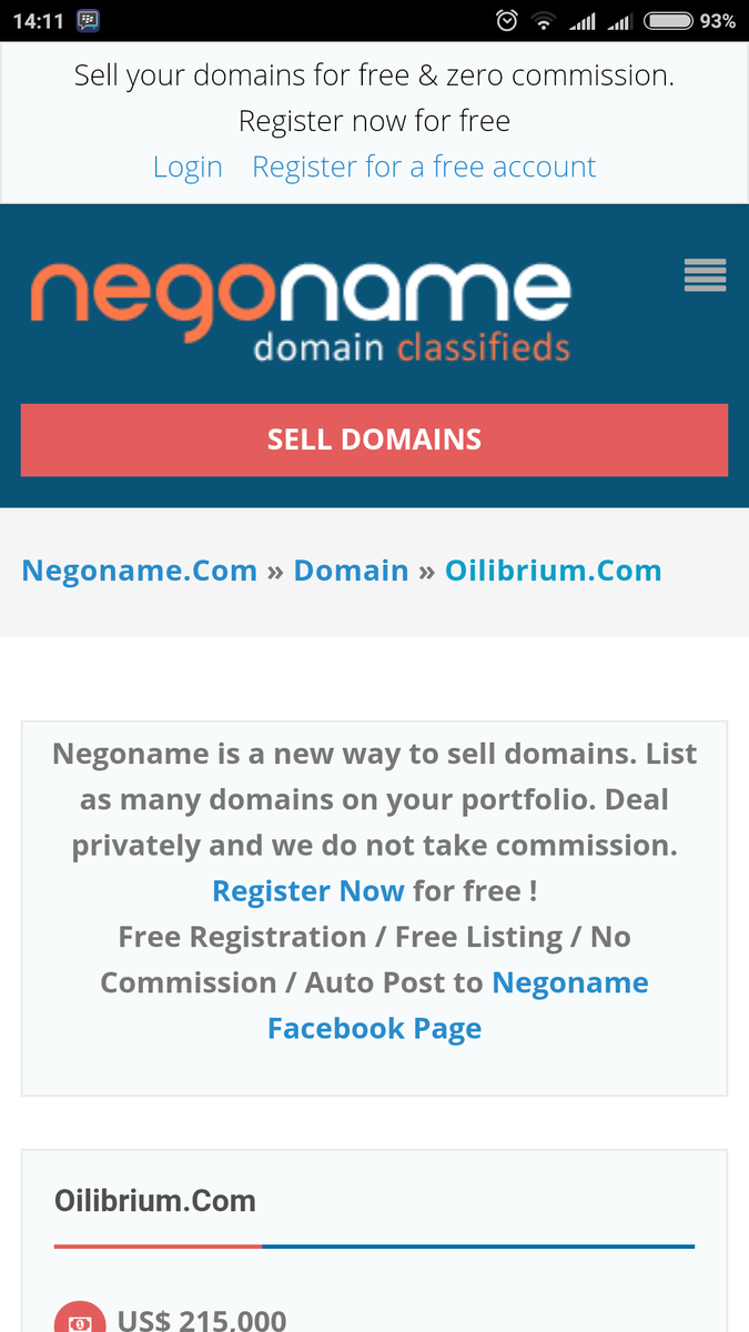 Domain Marketers Club On Twitter List Domains Free No Successful Fee No Hidden Fee Https T Co Waigya7a8d Namescon2016 Domaining Via Domainomy Https T Co 882kuwhfg1