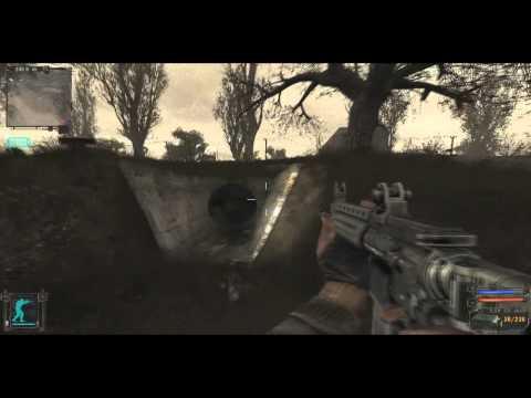 видео сталкер тень чернобыля как найти гаусс пушку