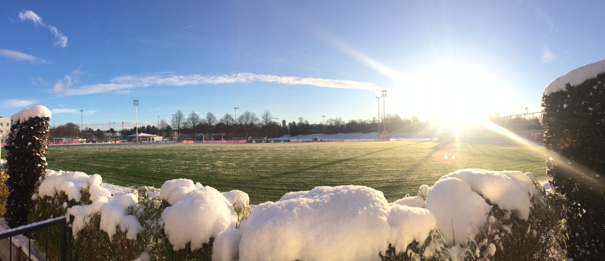 Traumhafter Mix Aus Sonne Und Schnee Schönen Guten Morgen