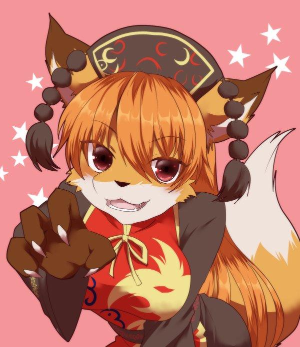 狐になれば見てもらえる気がした純狐ちゃん? https://t.co/Z9xxykpI3S