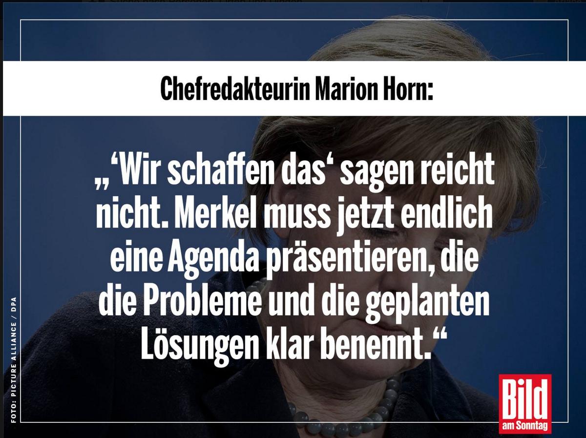 Merkel Muss Jetzt Langsam Mal Auf Den Tisch Hauen Findet