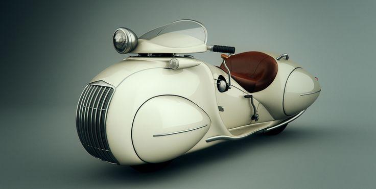世界恐慌前のアメリカに存在してたオートバイメーカー・ヘンダーソン社その中でもストリーム・ラインて車種は86年前のバイクとは思えない惚れ惚れする流麗なデザイン。走行性能は気にしない気にしない。 pic.twitter.com/xOmFcAzAhc