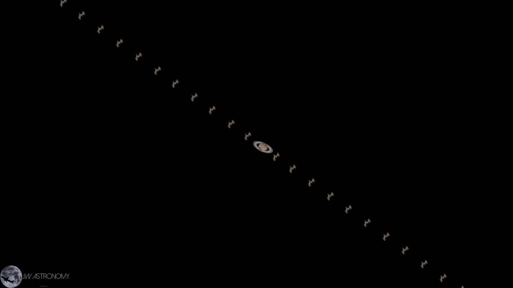 Prepare to be gob smacked! Julian Weßel captured the #iss transiting Saturn on Jan 15th! https://t.co/JHL4YPTbsx https://t.co/DTNB37G4wP