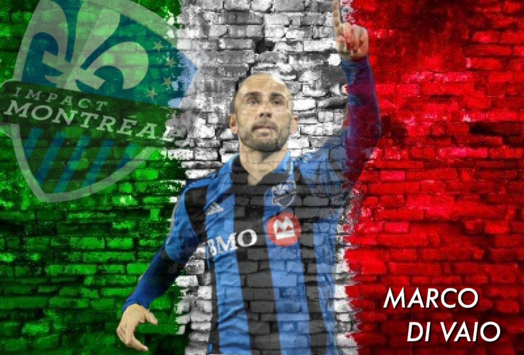 A real #IMFC legend - Marco Di Vaio.