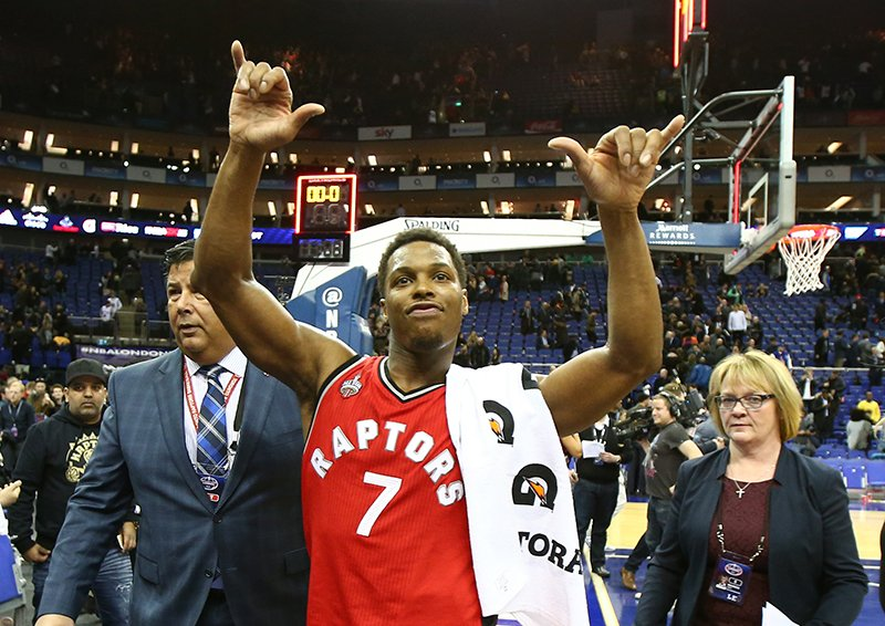 Hang loose, Kyle Lowry. #NBAVote https://t.co/9dW2PMget5