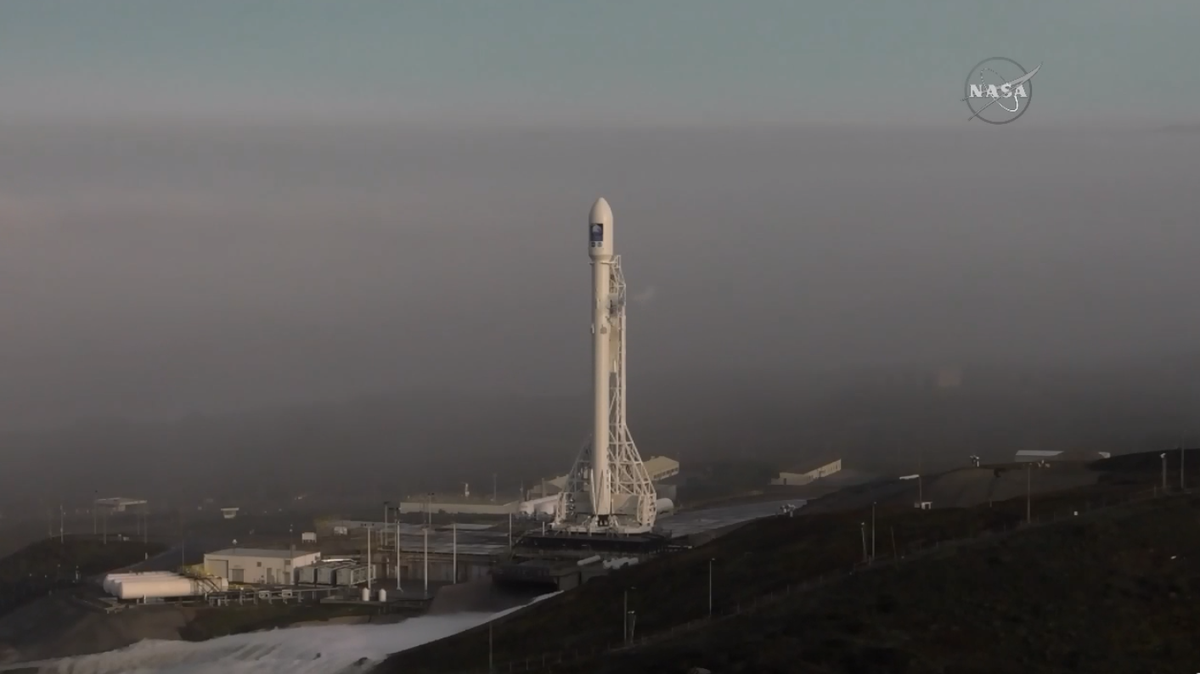 Spaceflight Now Live Video Of Todays Falcon 9 Launch
