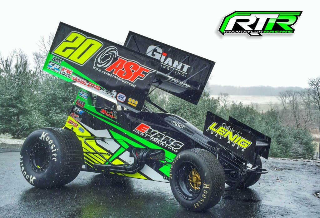 Ryan Taylor On Twitter The 2016 Ryan Taylor Racing 410 Sprint