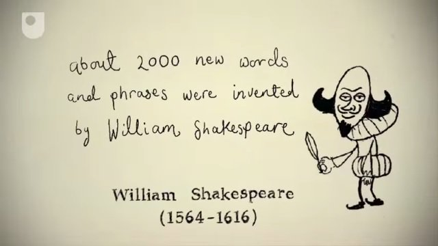 10 words shakespeare invented