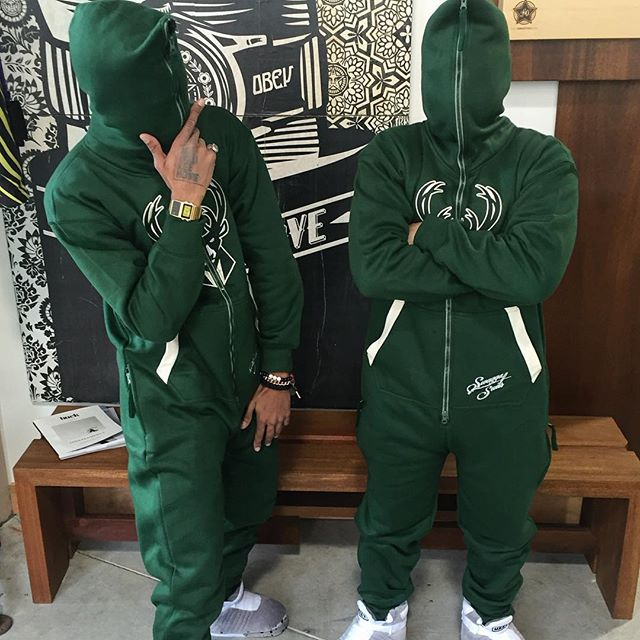 Keep toasty in these @Bucks 'Swagger Suit' cotton onesies...Available in-store now! $95 #fearthedeer #ownthefuture https://t.co/vBnjhwsehb