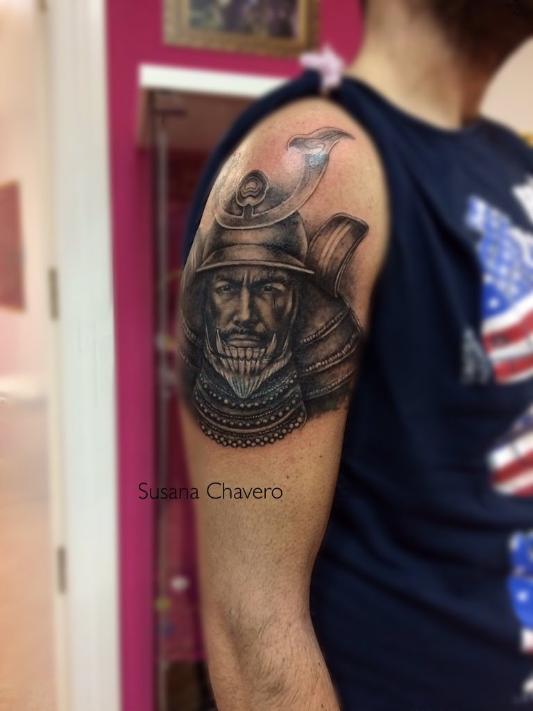 "Tatuajes Alcorcon susana chavero on twitter: ""#samurai #tattoo #tatuaje #madrid"