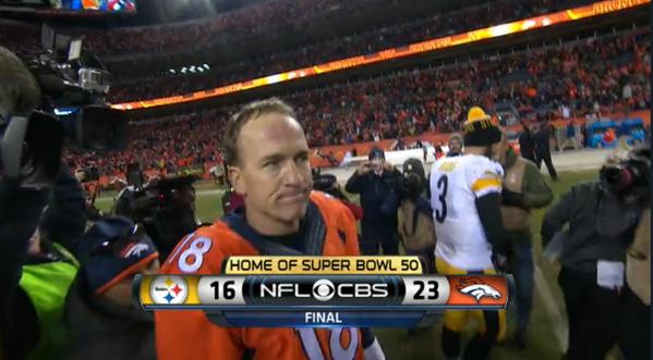 Congrats to @Broncos #PITvsDEN @JohnElway @PeytonManning @RicMcCoy @CJRomig @skeetle @arnoldtijerina @IADA_Bruce https://t.co/NWuSyW9kW6