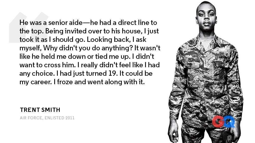 Military sexual harassment stories