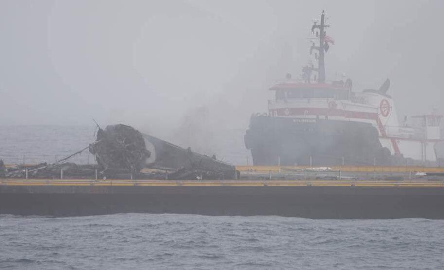 YouTube: il fallito atterraggio del razzo Space X Falcon 9 su piattaforma in mare