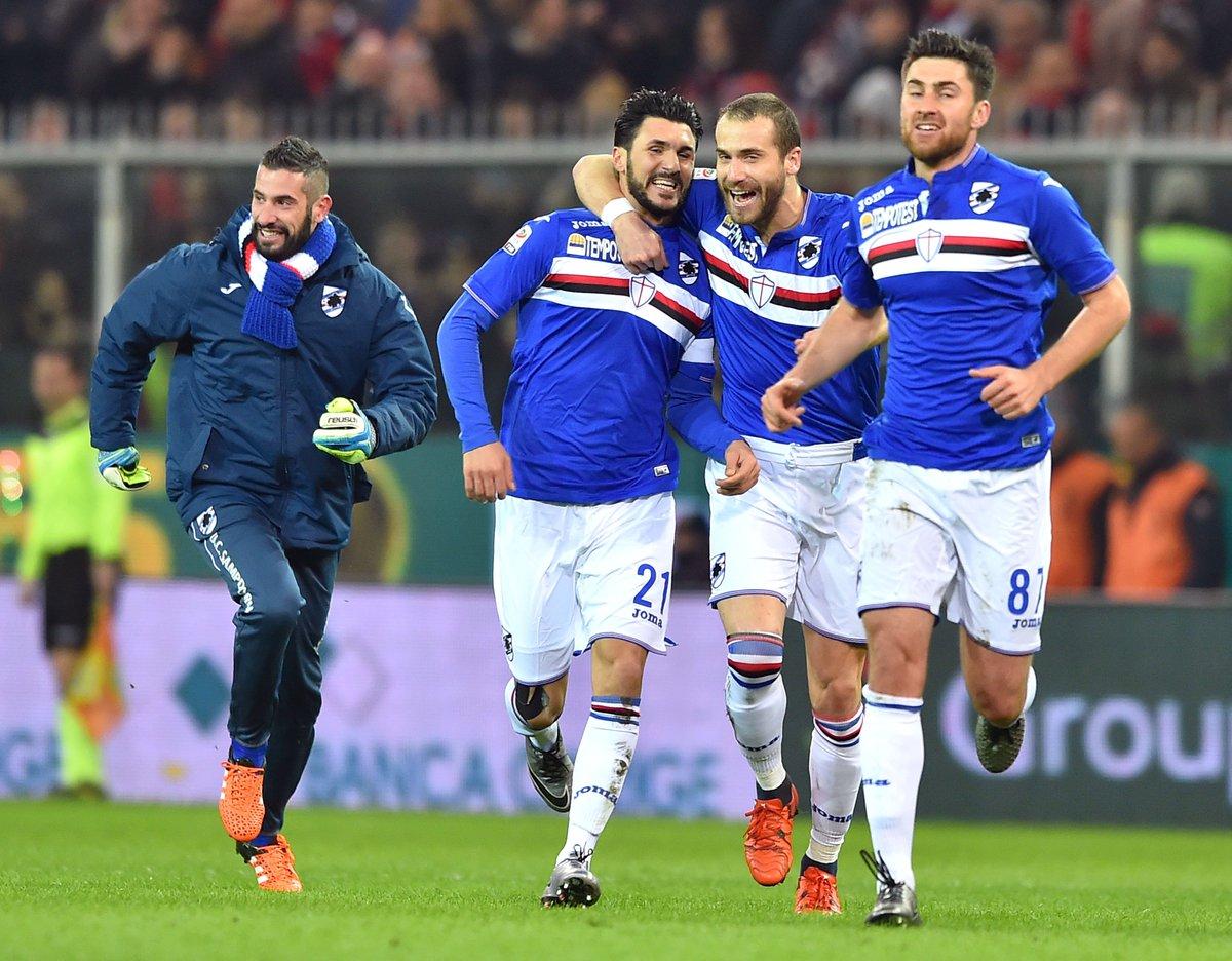 Anticipo Serie A: Genoa-Sampdoria 2-3