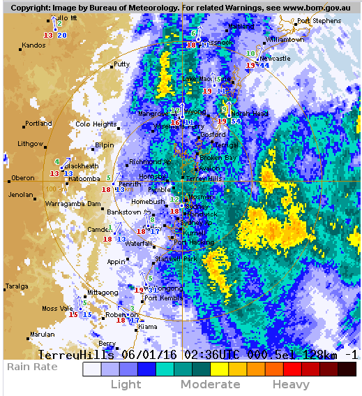 NSW Weather Severe Rainfall And Flooding On Coast Heavy Rain