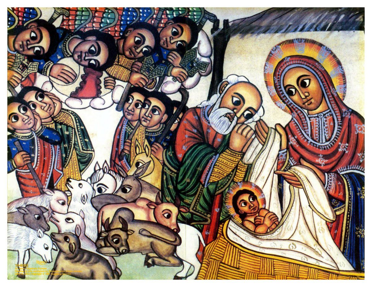 Tomorrow is Christmas in Ethiopia. We celebrate the birth of Jesus Christ/Yesus Kristos, the Messiah #MerryChristmas https://t.co/v6tS1VaUGT