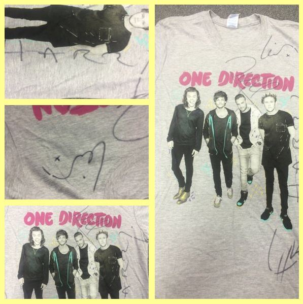 To #win a @onedirection signed t-shirt, RT & Follow us by 12pm Monday 11th Jan! #sunshinecomp Good Luck! https://t.co/xJMek4Yi5F