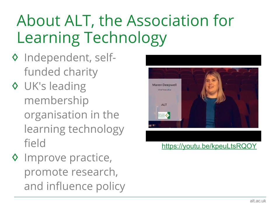 About the Association for Learning Technology (@A_L_T) https://t.co/zfEi83OGey #elearninged https://t.co/SCxtw2auIV