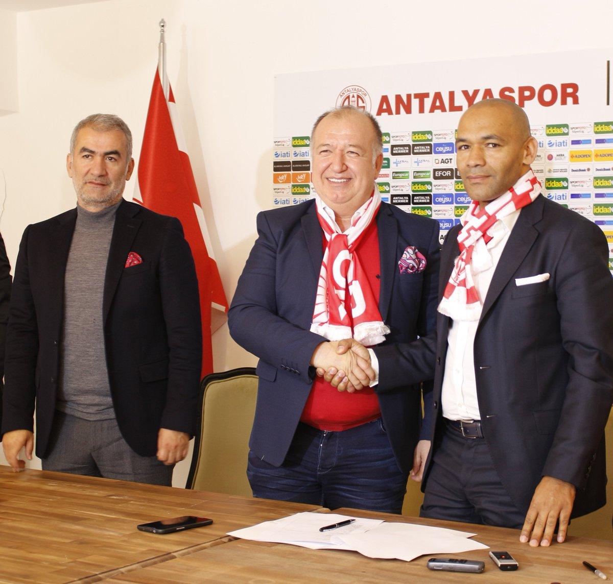 Eto'o lasts just FIVE games as Antalyspor manager