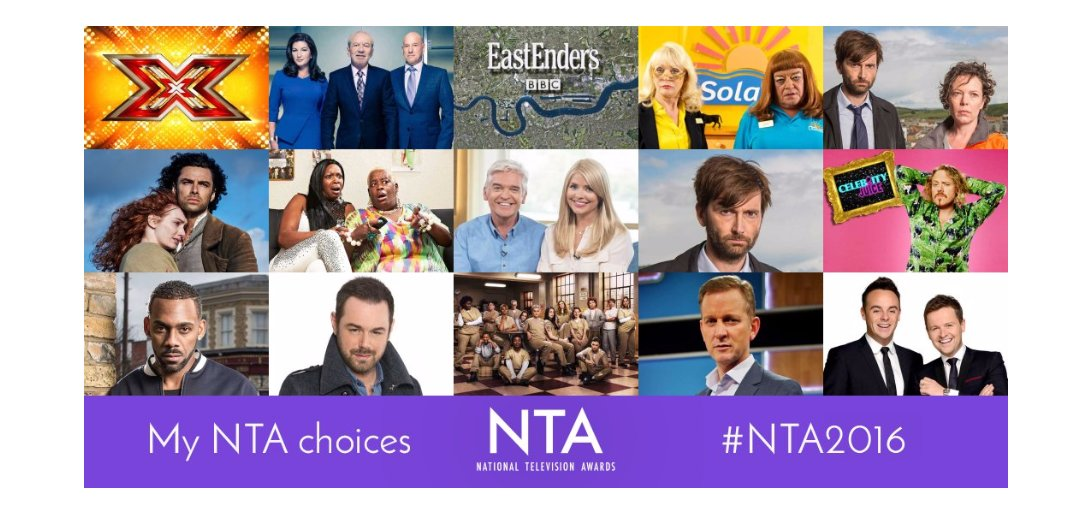 RT @lailabutton_: That's my Voting done!! Vote Yours now!👍 #NTA2016 @bbceastenders @MrDDyer @itvthismorning @CelebJuice @lemontwittor https…