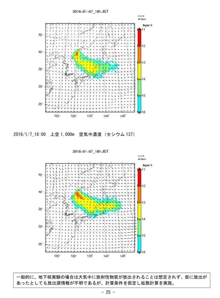WSPEEDIによる予測。これは放出された場合の予測で地下核実験は大気中に放出しないと想定されています。 https://t.co/llC8V4HkZ3  でもさ、福島第一原発事故のときも、こういうの出してくれても良かったじゃんねぇ https://t.co/obAM9b5aOH