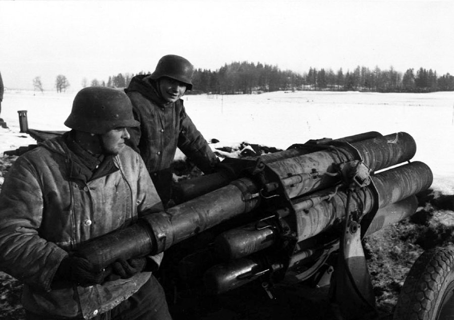 Image result for German 15cm Nebelwerfer rocket