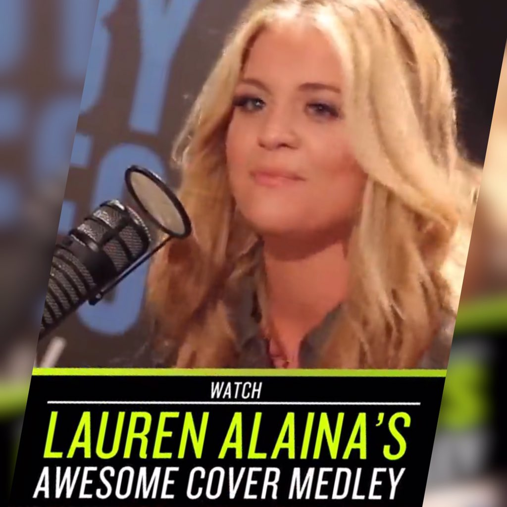 Dang, our hometown girl @Lauren_Alaina's Cover Medley on our @iHeartRadio #SnapchatDiscover Channel is awesome. https://t.co/yTykhlkZgw