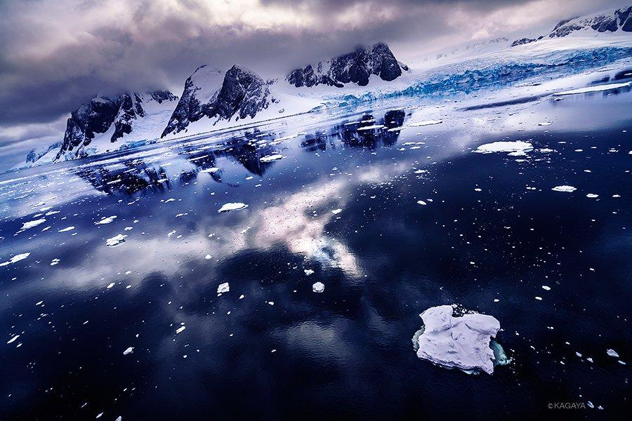南極の宇宙。わたしにとっての南極、宇宙の中の惑星地球を全身で感じる場所。心の中で一番宇宙に近い場所。 pic.twitter.com/Lz1YtxKwxn