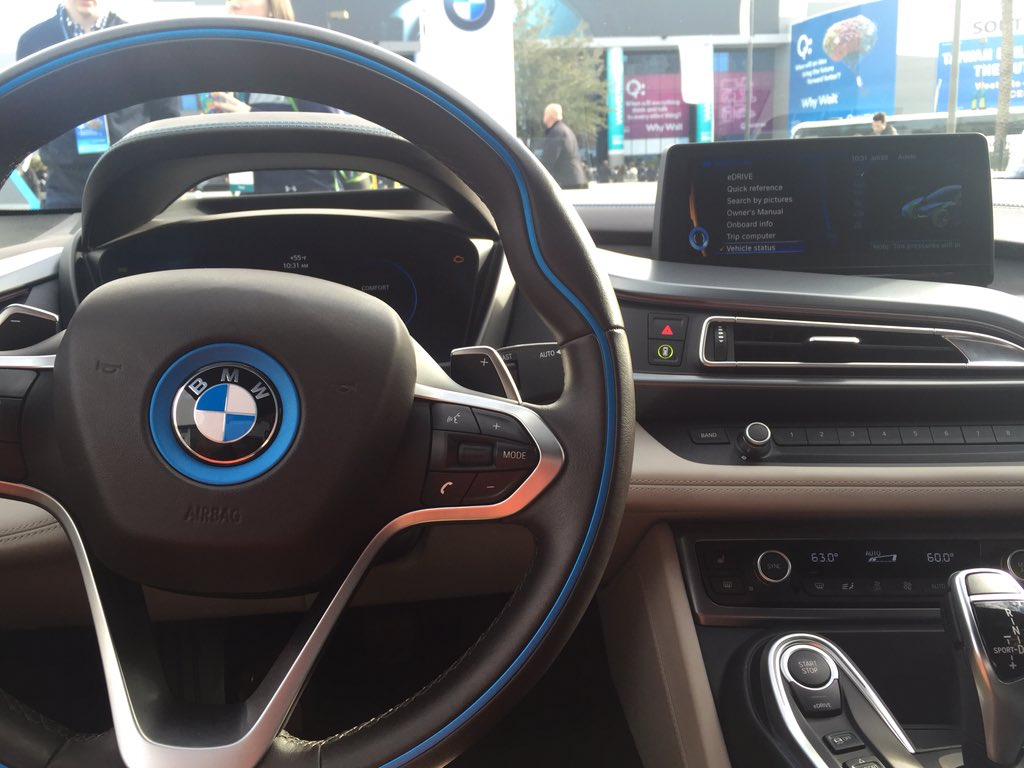 Amy Iverson On Twitter My View Sitting Inside The New I8 From Bmw