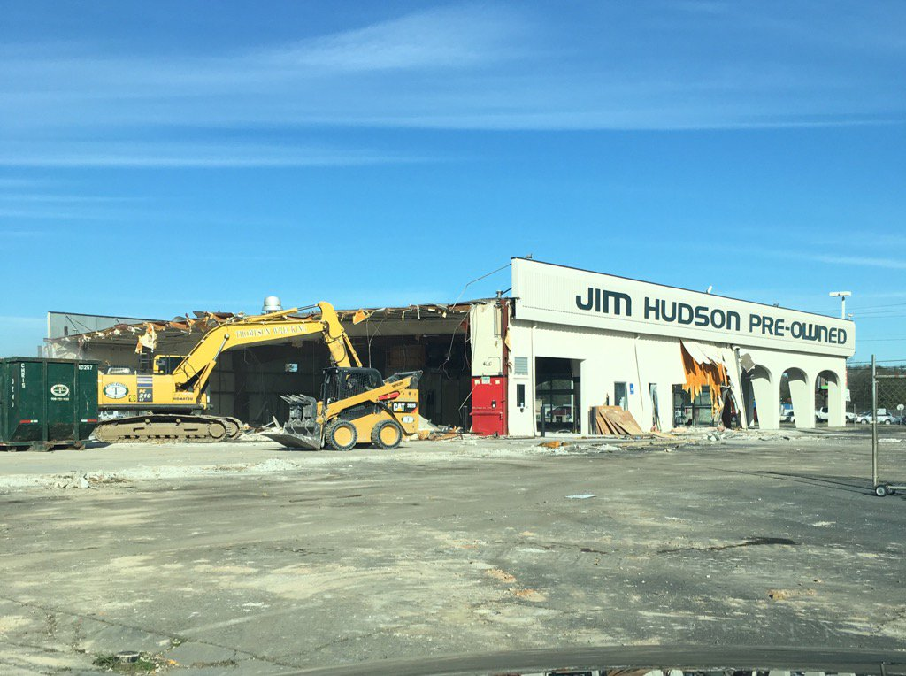 Jim Hudson Lexus >> Jim Hudson Lexus Augusta On Twitter Demolition In Full Swing New