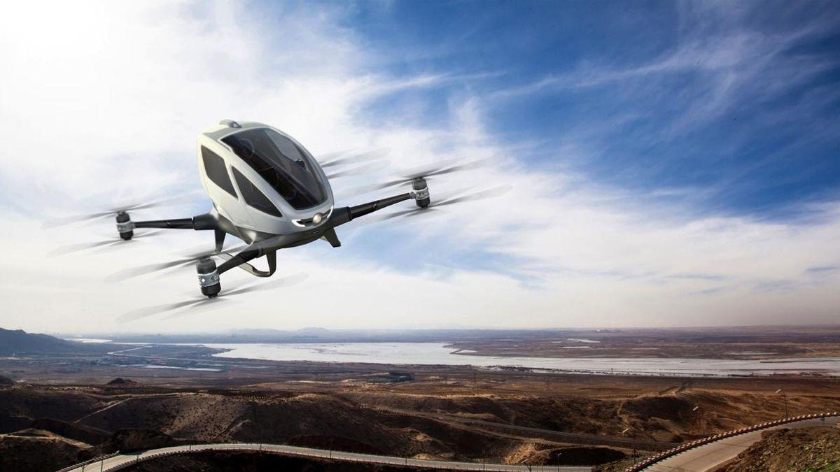 Yolcu Taşıyabilen Uçan Kamera Drone İcat Edildi