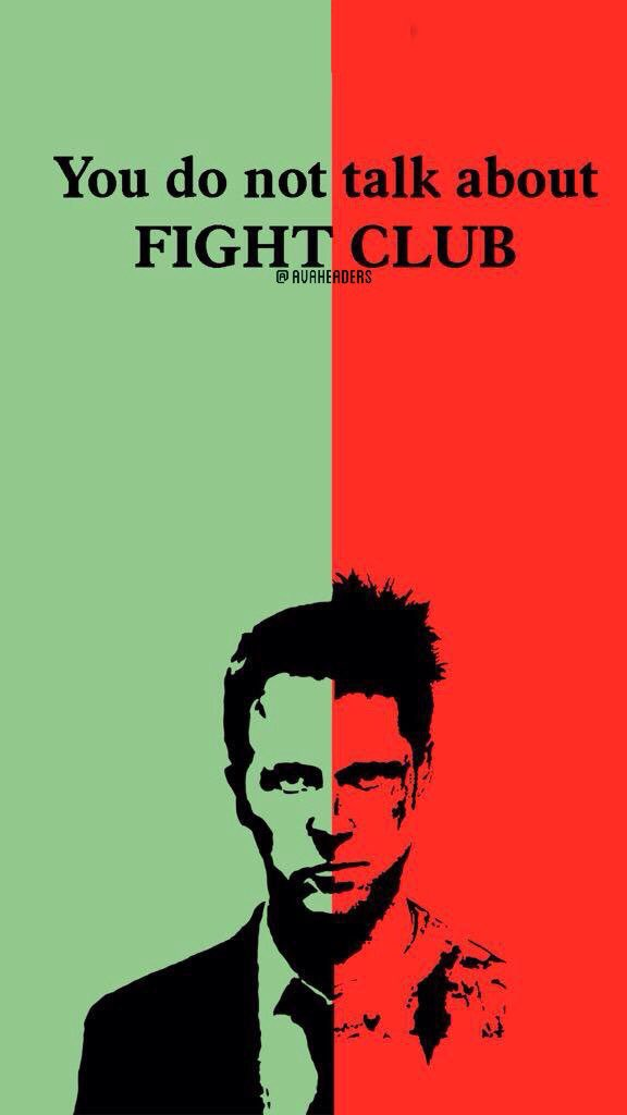Avaheaders On Twitter Fightclub Wallpaper Httpstco