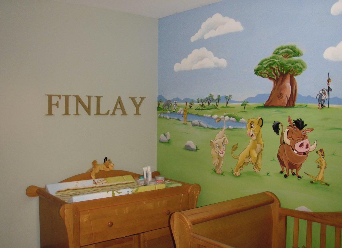 Lion King Custom Murals Nursery. Custom Murals Blog
