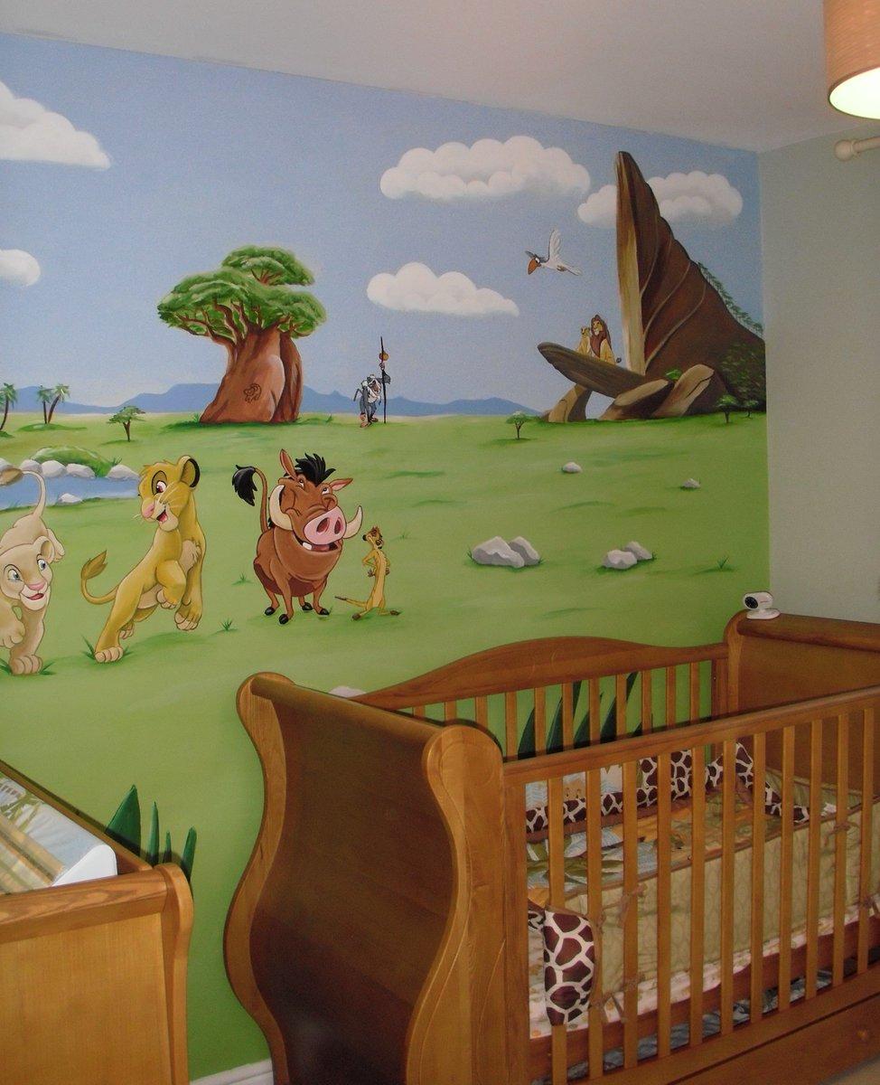 The Lion King Custom Murals Nusery. Custom Murals Blog