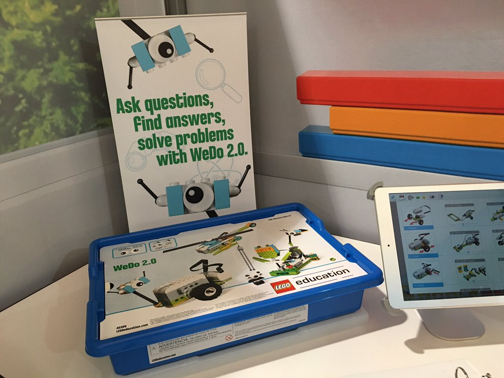 The new WeDo 2.0 by @LEGO_Education is geared towards kids in grades 2-4. // #familytech https://t.co/V40FNm666n